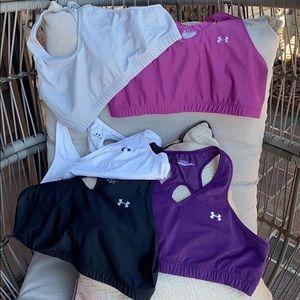 Underarmour sports workout bra Size XL